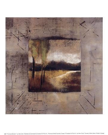 Provincial Moment I-Helen Zarin-Art Print