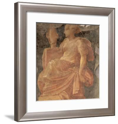 Prudence, One of the Four Cardinal Virtues-Nicolò dell' Abate-Framed Giclee Print