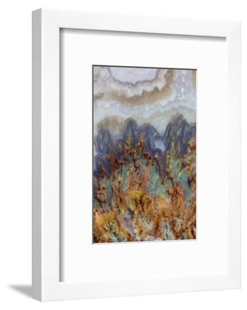 Prudent Man Agate, Origin Idaho-Darrell Gulin-Framed Photographic Print