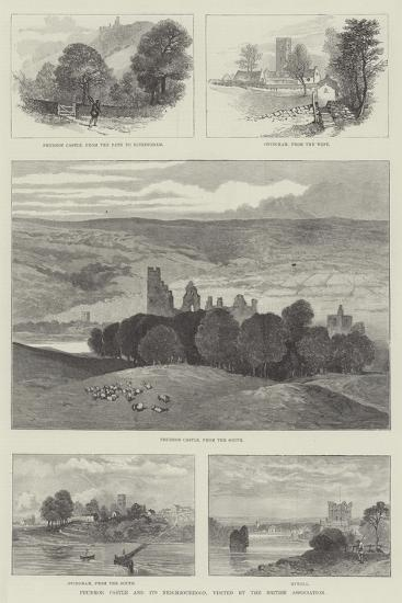 Prudhoe Castle and its Neighbourhood, Visited by the British Association--Giclee Print