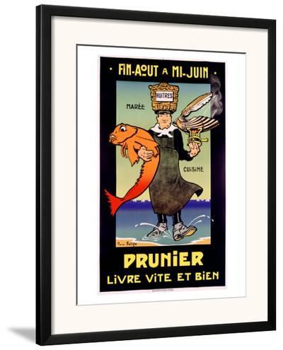 Prunier- Falize-Framed Giclee Print