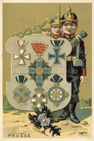 Prussia--Giclee Print