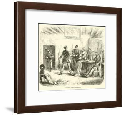 Prussian Foraging Party, March 1871--Framed Giclee Print