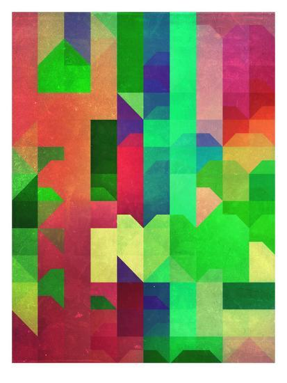 Pryncyss-Spires-Art Print