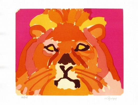 PS - Le lion II-Charles Lapicque-Limited Edition