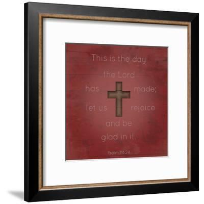 Psalm 118 24-Jace Grey-Framed Art Print