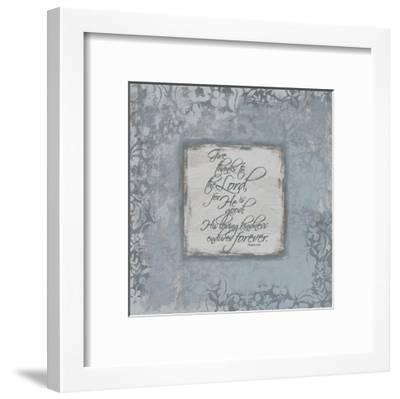 Psalm 1181 Silver-Jace Grey-Framed Art Print