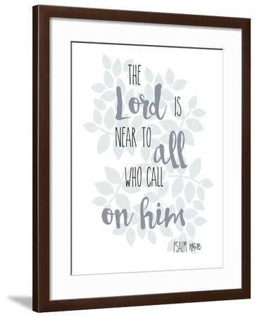 Psalm 145.18-Erin Clark-Framed Giclee Print