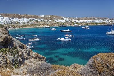 Psarrou Beach in Mykonos Island, Greece-Ali Kabas-Photographic Print