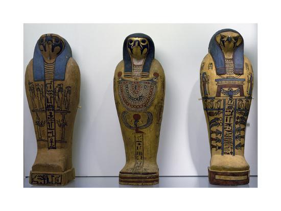Pseudo Sarcophagus of Osiris--Giclee Print