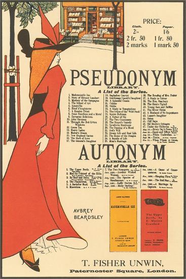 Pseudonym, Autonym--Art Print
