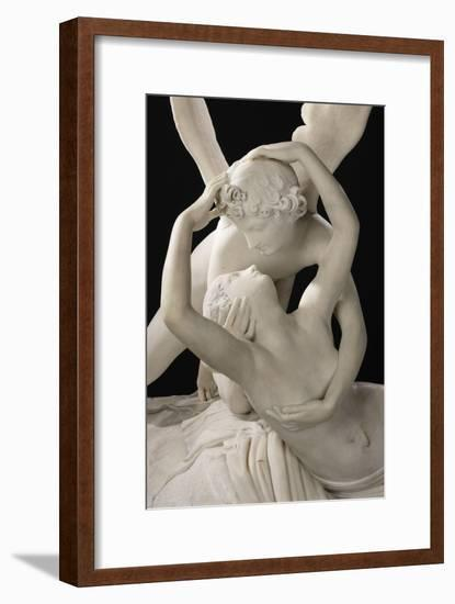 Psyché ranimée par le baiser de l'Amour-Antonio Canova-Framed Giclee Print