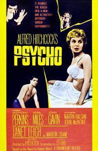 Psycho, Anthony Perkins, Vera Miles, Janet Leigh, John Gavin, 1960