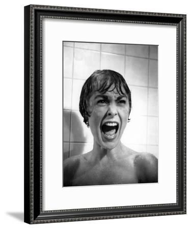 Psycho, Janet Leigh, Directed by Alfred Hitchcock, 1961--Framed Photo