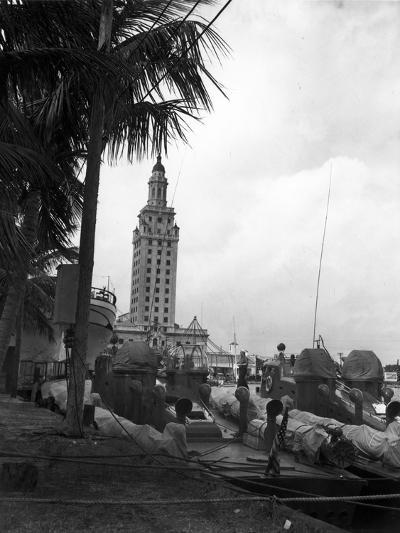 Pt Boats Docked at the Port of Miami--Photographic Print