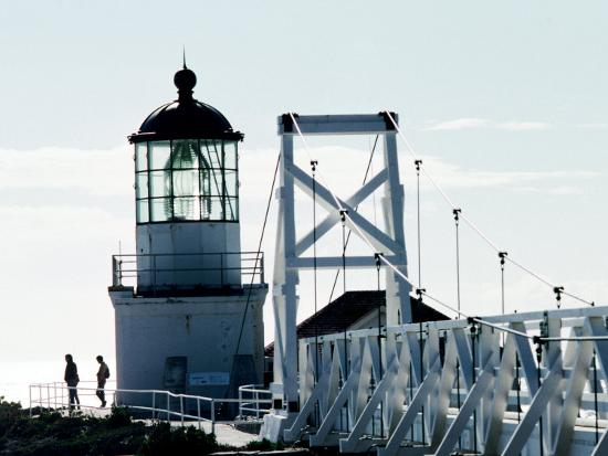 Pt Bonita Lighthouse at Marin Headlands, Marin County, California-John Elk III-Photographic Print