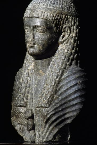 Ptolemaic Queen, Granite Statue, Found in Fouah, Ptolemaic Period BC--Giclee Print
