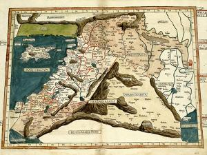 Cyprus, Syria, Babylonia and Judea by Ptolemy