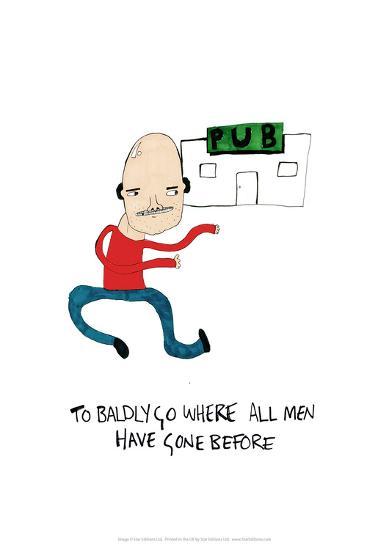 PUB - Tom Cronin Doodles Cartoon Print-Tom Cronin-Giclee Print