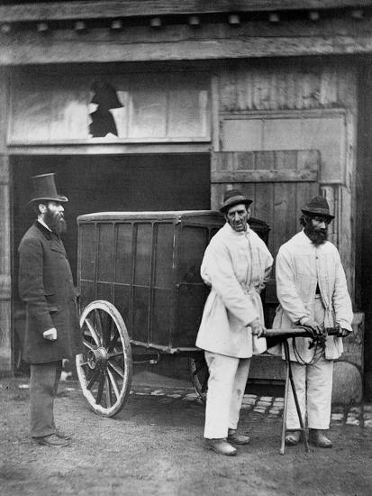 Public Disinfectors, from 'Street Life in London', 1877-John Thomson-Giclee Print