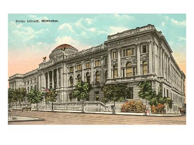 Public Library, Milwaukee, Wisconsin--Art Print