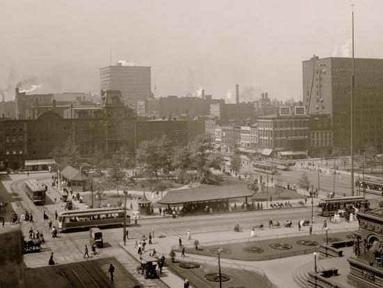 Public Square, Cleveland, Ohio--Photo
