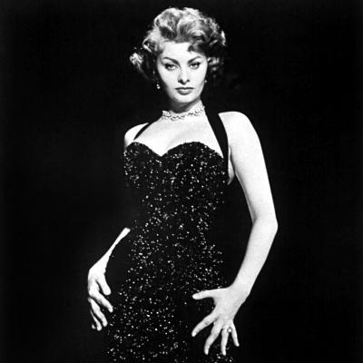 Publicity Shot of Sophia Loren Used to Promote Pride and the Passion, 1957--Photo
