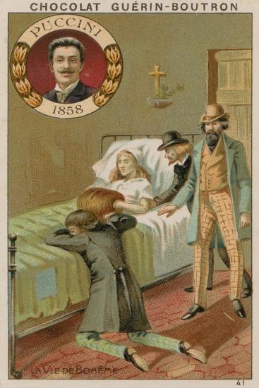 Puccini, La Vie De Boheme--Giclee Print