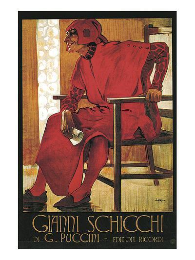 Puccini Opera Gianni Schicci--Art Print