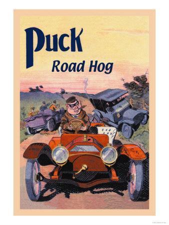 Puck, Road Hog-E. Baker-Art Print