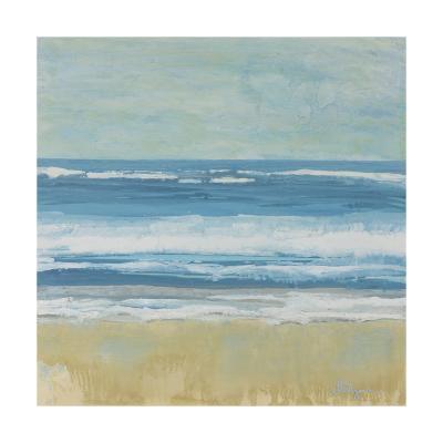 Puddle Beach-Dlynn Roll-Art Print