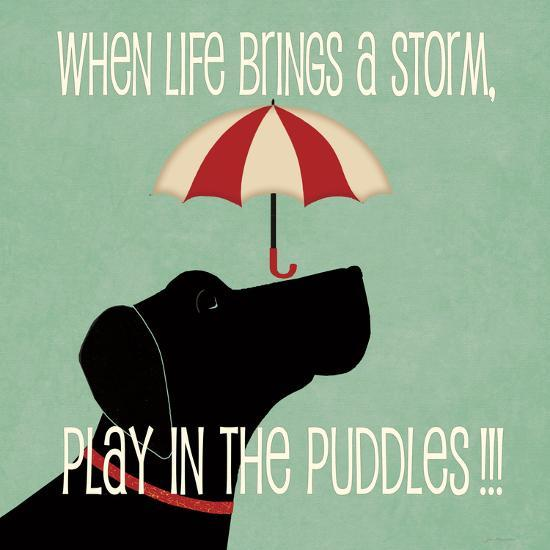 Puddles-Jo Moulton-Art Print