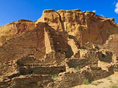 Pueblo Bonito Chaco Culture National Historical Park Scenery, New Mexico-Michael DeFreitas-Photographic Print
