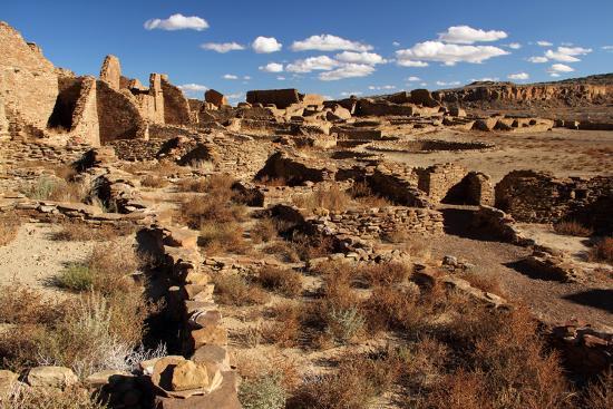 Pueblo Bonito Ruins-Wilsilver-Photographic Print
