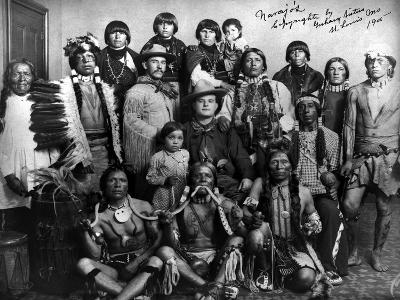 Pueblo Group, 1904--Giclee Print