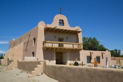 Pueblo Mission, San Ildefonso Pueblo, Pueblo Dates to 1300 Ad, New Mexico, United States of America-Richard Maschmeyer-Photographic Print