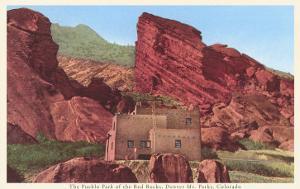 Pueblo Park of the Red Rocks, Denver, Colorado