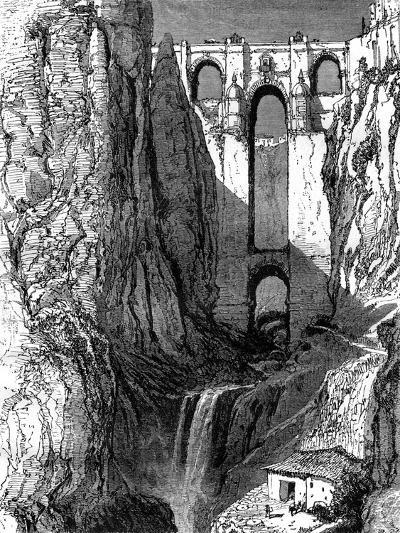 Puente Nuevo, Ronda, Spain, 19th Century-Harry Fenn-Giclee Print