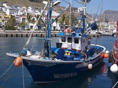 Puerto De Mogan, Gran Canaria, Canary Islands, Spain, Atlantic, Europe-Hans Peter Merten-Photographic Print