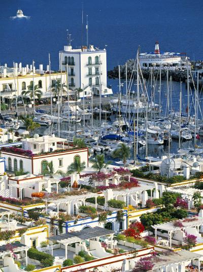 Puerto de Mogan, Gran Canaria, Canary Islands, Spain-Peter Adams-Photographic Print