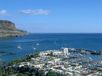 Puerto De Mogan, Gran Canaria, Canary Islands-Peter Thompson-Photographic Print