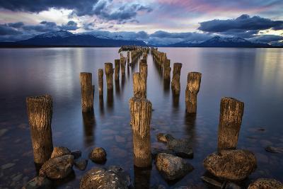 Puerto Natales Pier-Jimmy McIntyre-Photographic Print