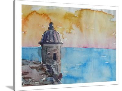 Puerto Rico El Morro-M Bleichner-Stretched Canvas Print