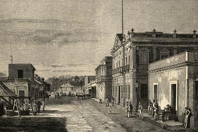 Puerto Rico. Mayaquez City. by Traver La Ilustracion Espanola Y Americana, 1889--Giclee Print