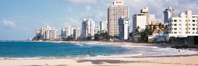 Puerto Rico, San Juan, Condado Area--Photographic Print