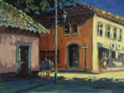 Puerto Vallarta Street Scene-Patti Mollica-Giclee Print