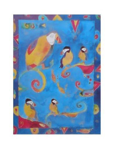 Puffins II--Art Print