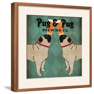 Pug and Pug Brewing Square-Ryan Fowler-Framed Photographic Print