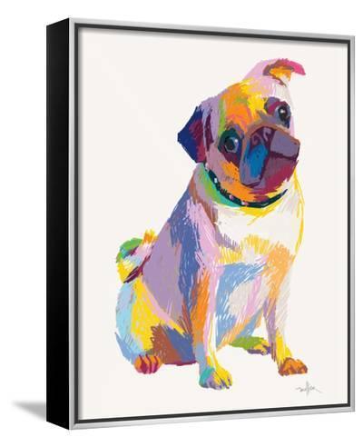 Pug Sketch-Patti Mollica-Framed Canvas Print
