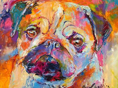 Pug-Richard Wallich-Art Print